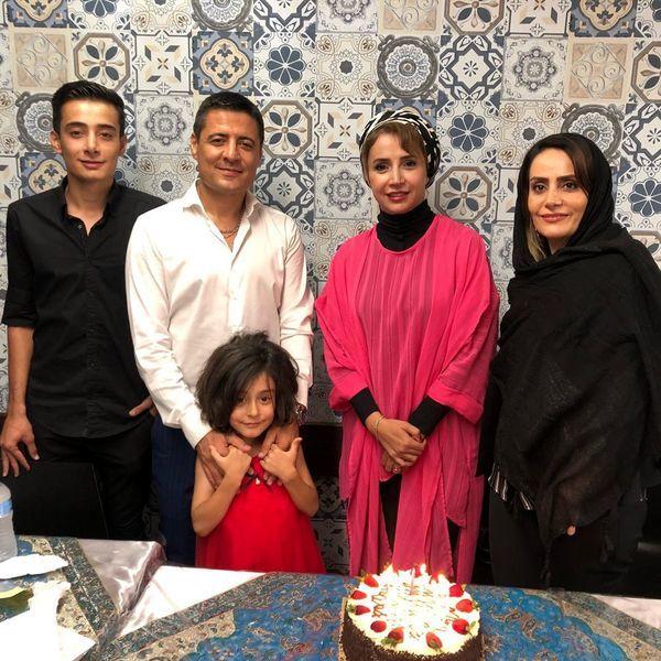 دورهمی خانوادگی شبنم قلی خانی و علیرضا فغانی در استرالیا + عکس