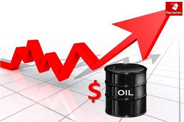 قیمت نفت رشد کرد