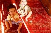 اسباب بازی بی نظیر دوقلوهای فلامک جنیدی+عکس