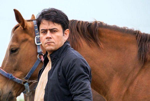 اسب زیبای بازیگر سریال پس از باران + عکس