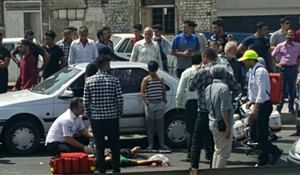 جزئیات تیراندازی در قزوین +عکس