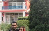 عکس داماد سریال دلدادگان همراه با همسرش