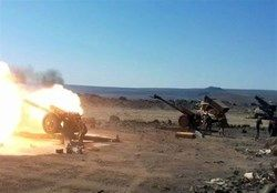 کشف سلاح های برجامانده از داعش در حومه دیرالزور