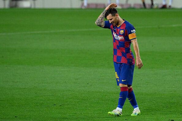 خشم مسی: بارسلونا اکنون یک تیم ضعیف است