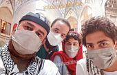 مهران احمدی در جمع دوستانش + عکس