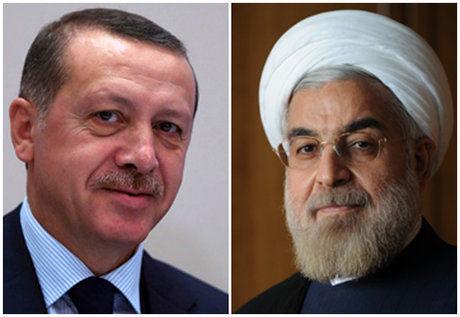 تاکید روحانی و اردوغان بر ادامه همکاریها در مورد سوریه