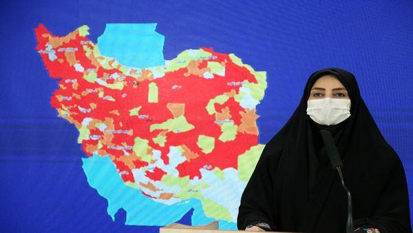 استانهای رکورددار بستری و مرگ و میر کرونا/ فهرست شهرستانهای نارنجی در کشور