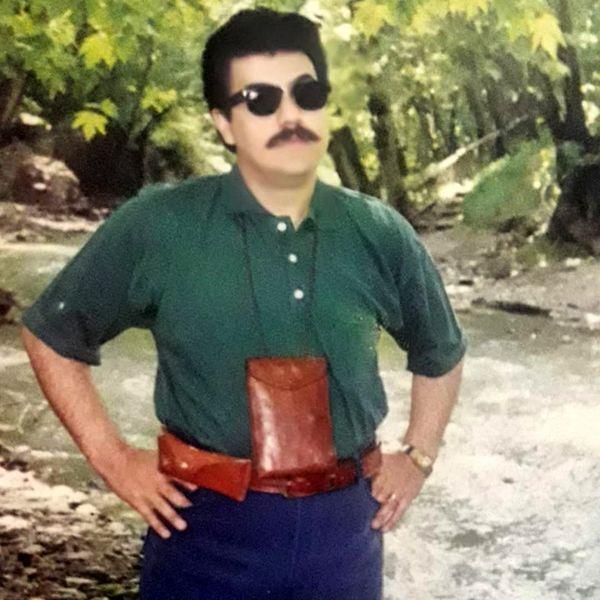 عکس خوشتیپ آقای گوینده خبر در 23 سال پیش