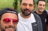 تیپ اسپورت احسان علیخانی و داور عصر جدید در گردش