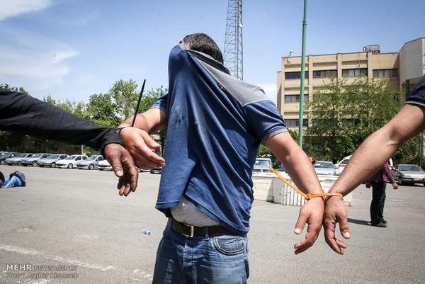 دستگیری سارقانی که شیفتی سرقت می کردند