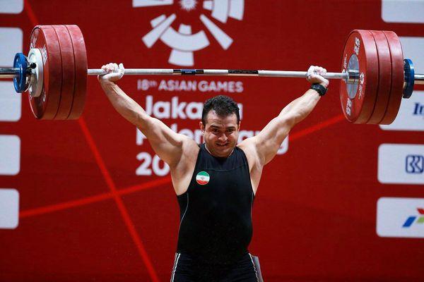 نام سهراب مرادی در بین برترین های وزنه برداری جهان