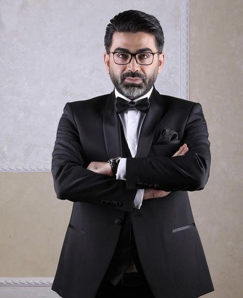 تیپ مافیایی فرزاد حسنی + عکس