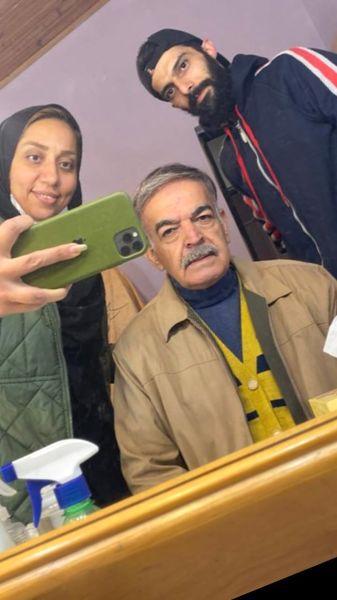 گریم جدید حمید لولایی + عکس
