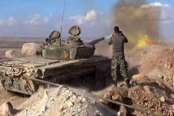 دفع یورش تروریستها در شمال حماه