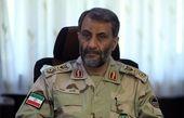 فرمانده مرزبانی نیروی انتظامی جمهوری اسلامی ایران وارد شلمچه شد
