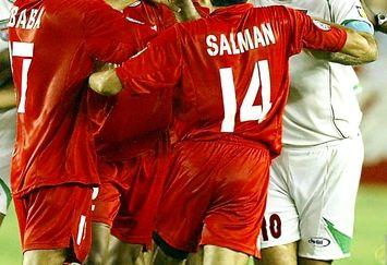 علی دایی لاغر در زمین فوتبال+عکس