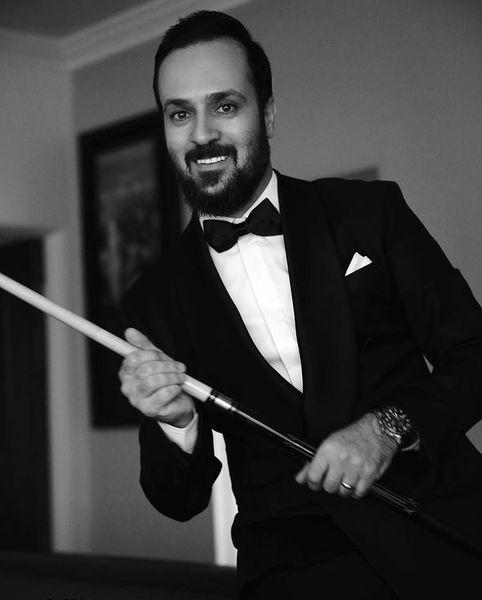 احمد مهرانفر با این تیپ بیلیارد بازی میکنه؟ + عکس