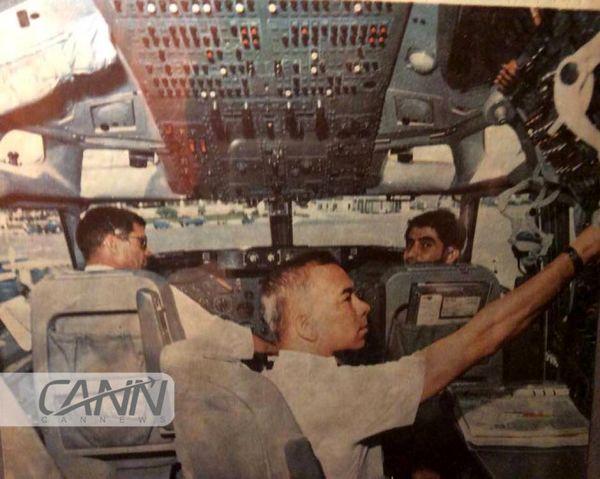 اولین هواپیمای بوئینگ۷۰۷ تحویلی به ایران
