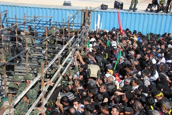 رکورد زائران خارجی اربعین ورودی از مرز آستارا شکسته شد