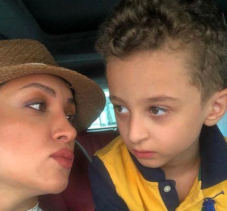 عاشقانه های روناک یونسی و پسرش در کانادا + عکس
