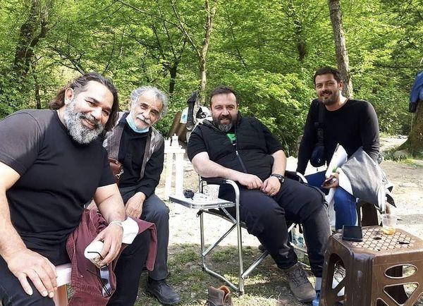 گردش داریوش سلیمی با دوستانش + عکس