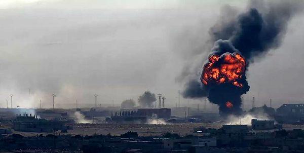 حمله نظامیان ترکیه به شمال استان حلب