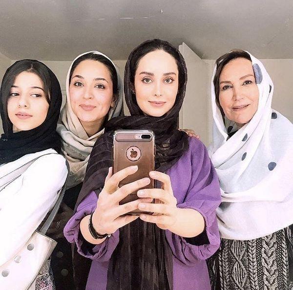 سلفی زنونه بازیگران دخترم نرگس + عکس
