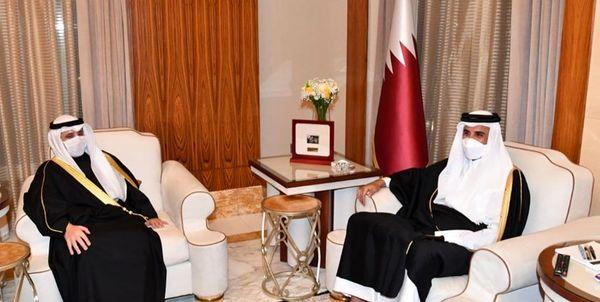 پیام امیر کویت پیامی به همتای قطری خود