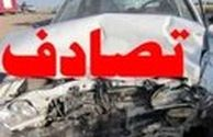 تصادف مرگبار  پراید و تریلر در اصفهان