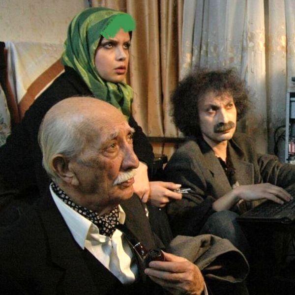 گریم دیده نشده از ارژنگ امیرفضلی + عکس
