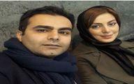 نیلوفر شهیدی درکنار برادرش + عکس
