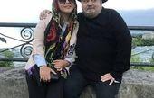 اکبر عبدی در آغوش دخترش + عکس