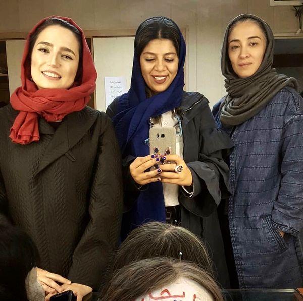 دلتنگی نگار جواهریان برای ایران از کانادا+عکس