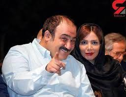 مهران غفوریان و همسرش، و روشنک عجمیان در کانادا