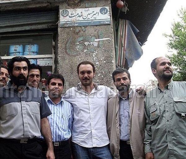 دوستان اخراجی کامبیز دیرباز + عکس