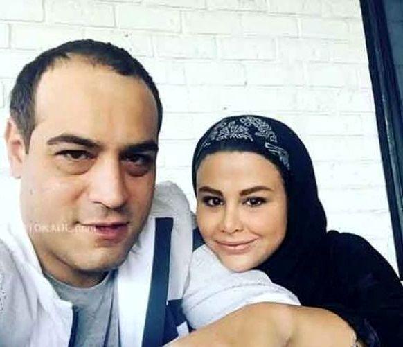 سلفی امیریل ارجمند و همسرش + عکس