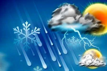 پیش بینی بارش پراکنده برای البرز