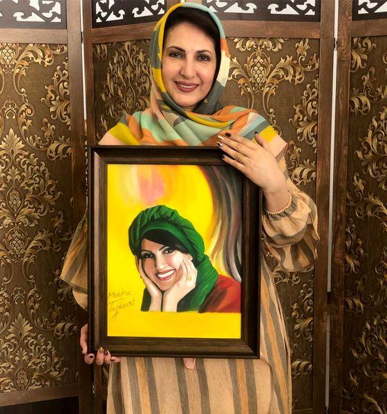 هدیه ارزشمند فاطمه گودرزی+عکس