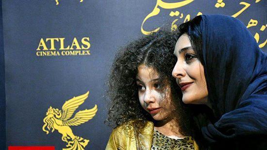 ساره بیات در پردیس اطلس مشهد +عکس