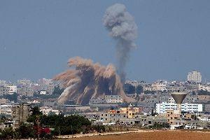 حمله هوایی رژیم صهیونیستی به نوار غزه و پاسخ نیروهای مقاومت