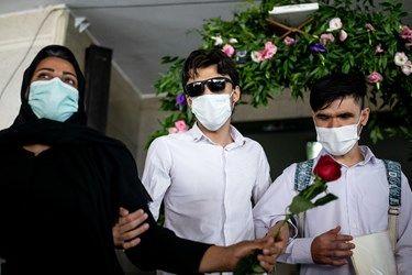 خروج دانش آموزان نابینا از کلاس های درسی در مدرسه ویژه نابینایان شهید محبی تهران