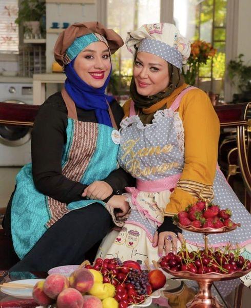 سر آشپز شدن بهاره رهنما + عکس