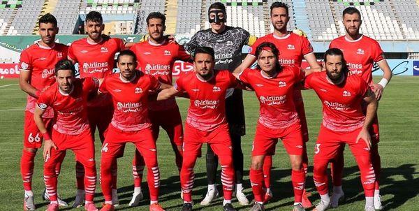 تراکتور برای بازی با پرسپولیس در تهران اردو زد