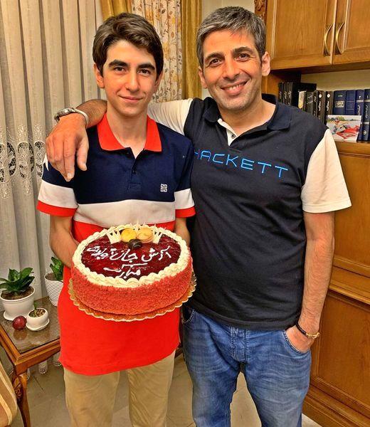 حمید گودرزی و برادر کوچکش + عکس