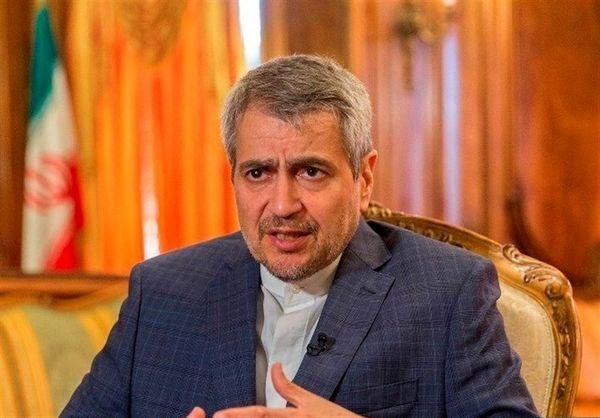 خوشرو: همکاری با چین راهبردی است/ شکست آمریکا در منزوی کردن ایران