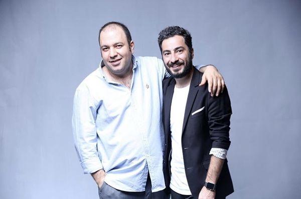 دوستی صمیمانه علی اوجی و نوید محمدزاده + عکس
