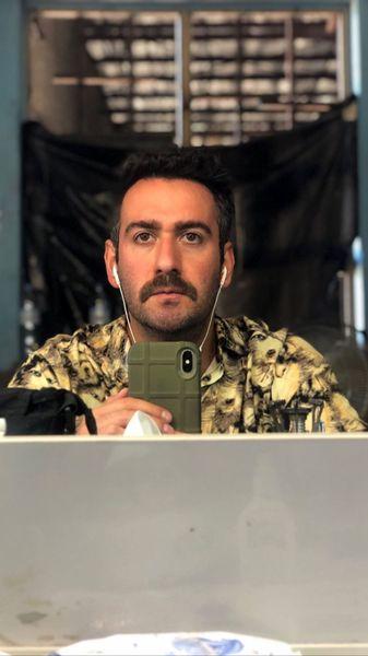 نیما شعبان نژاد با لباس نظامی + عکس
