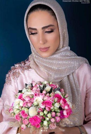 پیام بازیگر تازه عروس بعد از مراسمش+عکس