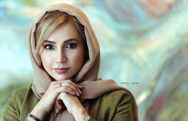 نگاه پر مفهوم شبنم قلی خانی + عکس