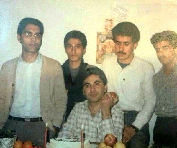 مهران مدیری در دوران دانشجویی+عکس
